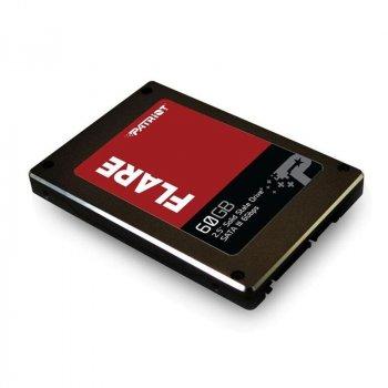 "Накопичувач SSD 60GB Patriot Flare 2.5"" SATAIII MLC (PFL60GS25SSDR)"