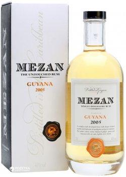 Ром Mezan Guyana Diamond 2005 0.7 л 40% (5060033841501)