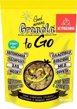 Гранола Good morning Granola to Go c клюквой 140 г (4820192180108)