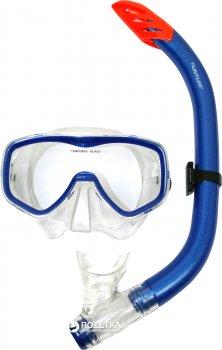 Набор Tunturi Snorkel Set Senior Siliter Blue/Transparent (14TUSSW030)