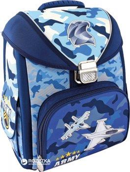 """Ранец школьный каркасный-трансформер Cool For School 711 14"""" Aircraft (CF85804)"""