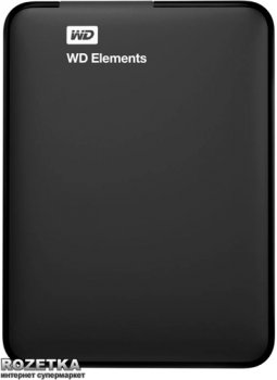 Жорсткий диск Western Digital Elements 2TB WDBU6Y0020BBK-WESN 2.5 USB 3.0 External Black