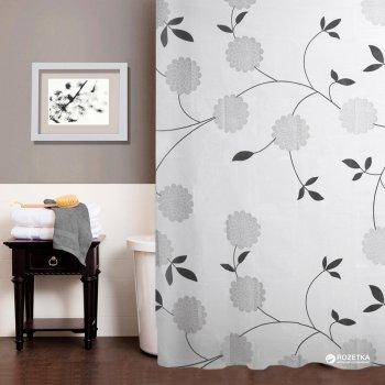 Шторка для ванної Мій Дім Beautiful flowers 180х180 см NJ10107