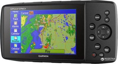 GPS навигатор Garmin GPSMAP 276Сx НавЛюкс (010-01607-01)