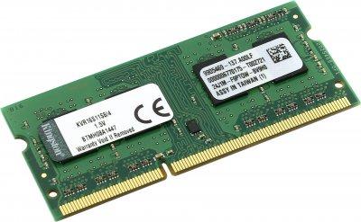 Оперативна пам'ять Kingston SODIMM DDR3-1600 4096MB PC3-12800 (KVR16S11S8/4)