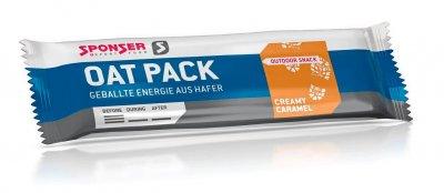 Энергетический батончик Sponser Oat Pack (25 x 50 г) Кремовая карамель
