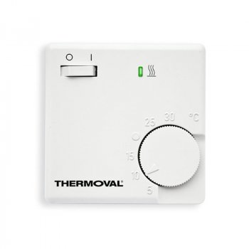 Терморегулятор THERMOVAL RTE - E - 3502 ПРОГРАММАТОР