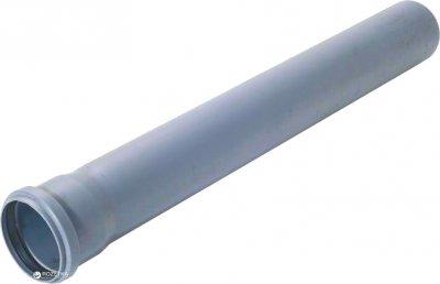 Труба ФОРТ-ПЛАСТ для внутрішньої каналізації з розтрубом ПВХ 1.8 мм 50х2000 мм (4868kmd)