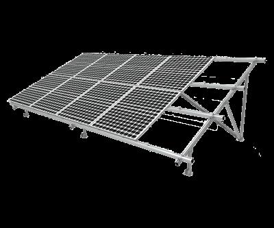 """Алюмінієва наземна конструкція для сонячних панелей """"V-type"""""""