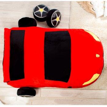 Дитяче безкаркасне ліжечко Lavibo Машинка L 220х170 см