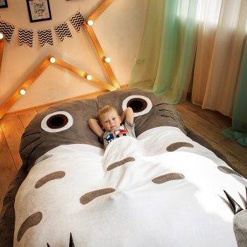 Дитяче безкаркасне ліжечко Lavibo Тоторо L 220х170 см