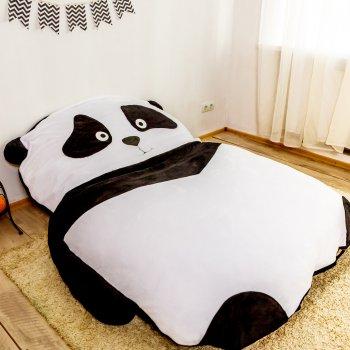 Дитяче безкаркасне ліжечко Lavibo Панда S 140х90 см