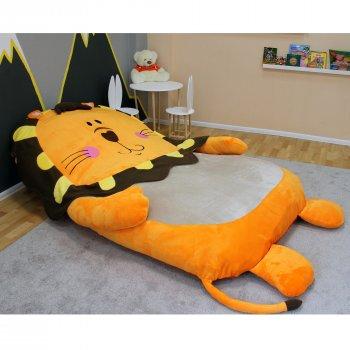 Дитяче безкаркасне ліжечко Lavibo Левеня М 180х130 см