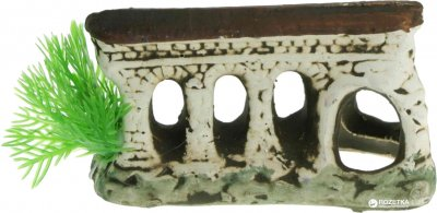 Грот керамический Aqua Nova Руины 11 x 6 x 4.5 см (N-30001)