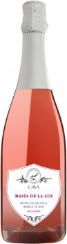 Вино ігристе Cava Masia De La Luz Seko Rose 0.75 л 11.5% (8426998282754)
