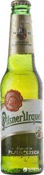 Упаковка пива Pilsner Urquell светлое фильтрованное 4.4% 0.33 л x 24 шт (8594404110127)