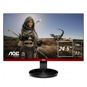 РК - Монітор ігровий безрамковий AOC Gaming G2590FX TN-матриця 1920х1080 пікселів з частотою оновлення 144 Гц + підтримка AMD FreeSync Чорний
