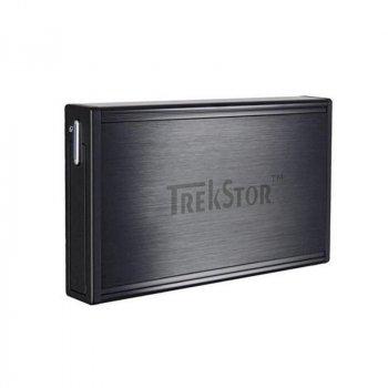 Накопичувач зовнішній HDD 2.5 USB 320GB TrekStor DataStation Pocket t.ub Black (TS25-320PTUB) Ref