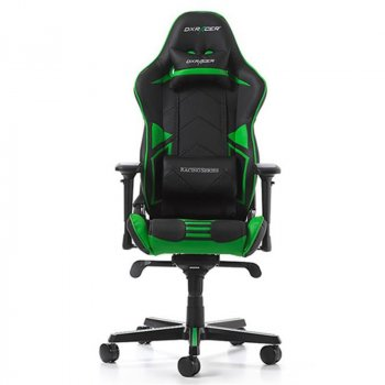 Кресло для геймеров DXRacer Racing OH/RV131/NE Black/Green
