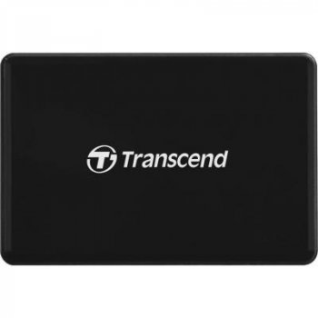 Зчитувач флеш-карт Transcend USB 3.1 Black (TS-RDF8K2)