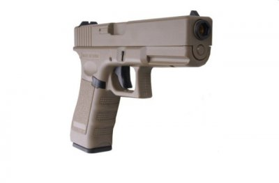 Пістолет Cyma Glock 18 CM.030 AEP Tan (Страйкбол 6мм)