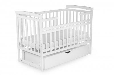 Ліжко TRANSFORMER (без ящика) DESON колір Білий DS-1011