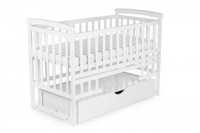Ліжко TRANSFORMER (з шухлядою) DESON колір Білий DS-101