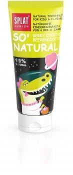 Детская зубная паста защита от бактерий и кариеса Splat Junior Ягодный коктейль 73 мл (4603014007735)