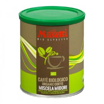 Кава мелена Musetti Organic Midori 250 г