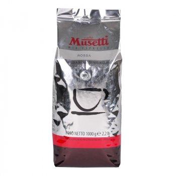Кава в зернах Musetti Rossa 1 кг
