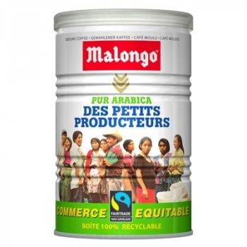 Кофе молотый Malongo Fair Trade 250 г