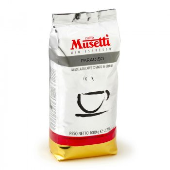 Кава в зернах Musetti Paradiso 1 кг