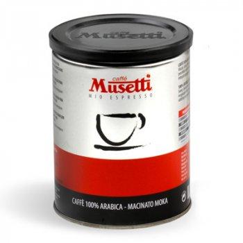 Кава мелена Musetti Arabica 100% ж/б 250 кг