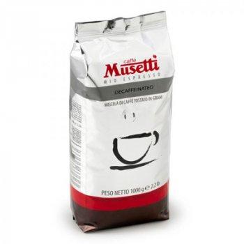 Кава в зернах Musetti Decaffeinated 1 кг