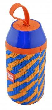 Портативна Bluetooth колонка вологостійка T&G 104 Blue/Orange