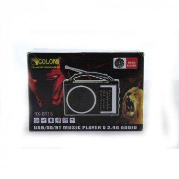 Радіо портативна колонка MP3 Golon RX-BT16 Bluetooth