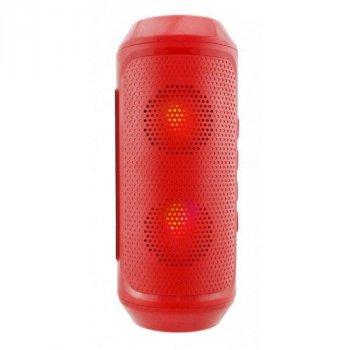 Портативна колонка bluetooth MP3 FM Спартак Q610, червона