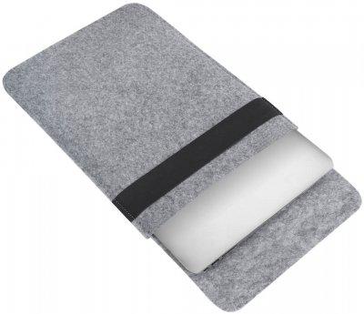 "Чохол для ноутбука Gmakin для MacBook Air/Pro 13.3"" Grey (GM16)"