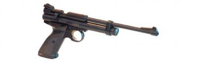 """Пистолет пневматический Crosman """"2300"""" кал.4,5 Crosman Черный"""
