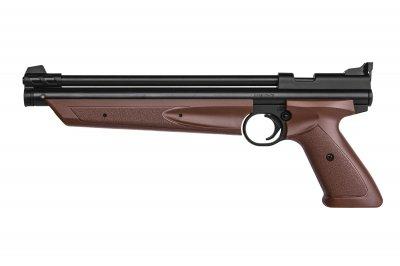 """Пистолет пневматический Crosman """"American Classic"""" кал.4,5 мм Crosman Коричневый"""