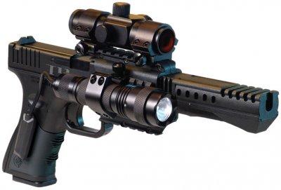 Пистолет пневматический Crosman мод.T4 Crosman Черный