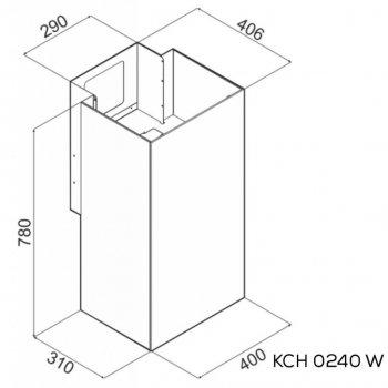 Витяжка кухонна Kernau KCH 0240 W