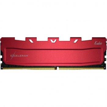 Модуль пам'яті для комп'ютера DDR4 64GB (2x32GB) 3000 MHz Red Kudos eXceleram (EKRED4643016CD)