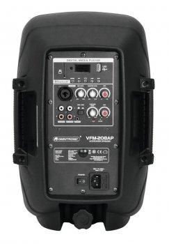 OMNITRONIC VFM208AP 80W с DJ-приложением с аудио-плеером и Bluetooth
