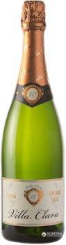Вино игристое Villa Clara Cava Semi Seco белое полусухое 0.75 л 11.5% (8421414319014)