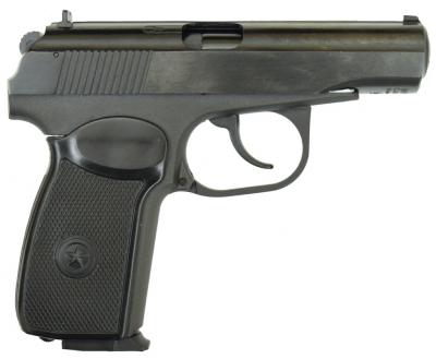 Пневматичний пістолет байкал мр658к(мр654к) чорн. рук. blowback