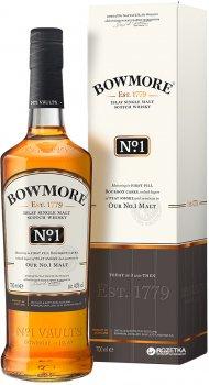 Виски Bowmore №1 0.7 л 40% (5010496004494)