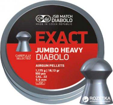 Свинцеві кулі JSB Diablo Exact Heavy 1.175 г 500 шт. (14530535)