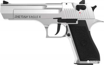 Стартовий пістолет Retay Arms Eagle 9 мм Chrome (11950378)