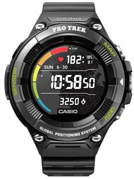 Годинник Casio WSD-F21HR-BKAGE Pro-Trek Smartwatch 58mm 5ATM